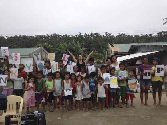 Stella Guiuan school construction site