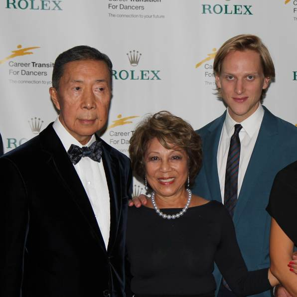 Fred, Irene Shen and David Hallberg