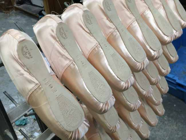 Freed of London pointe shoes