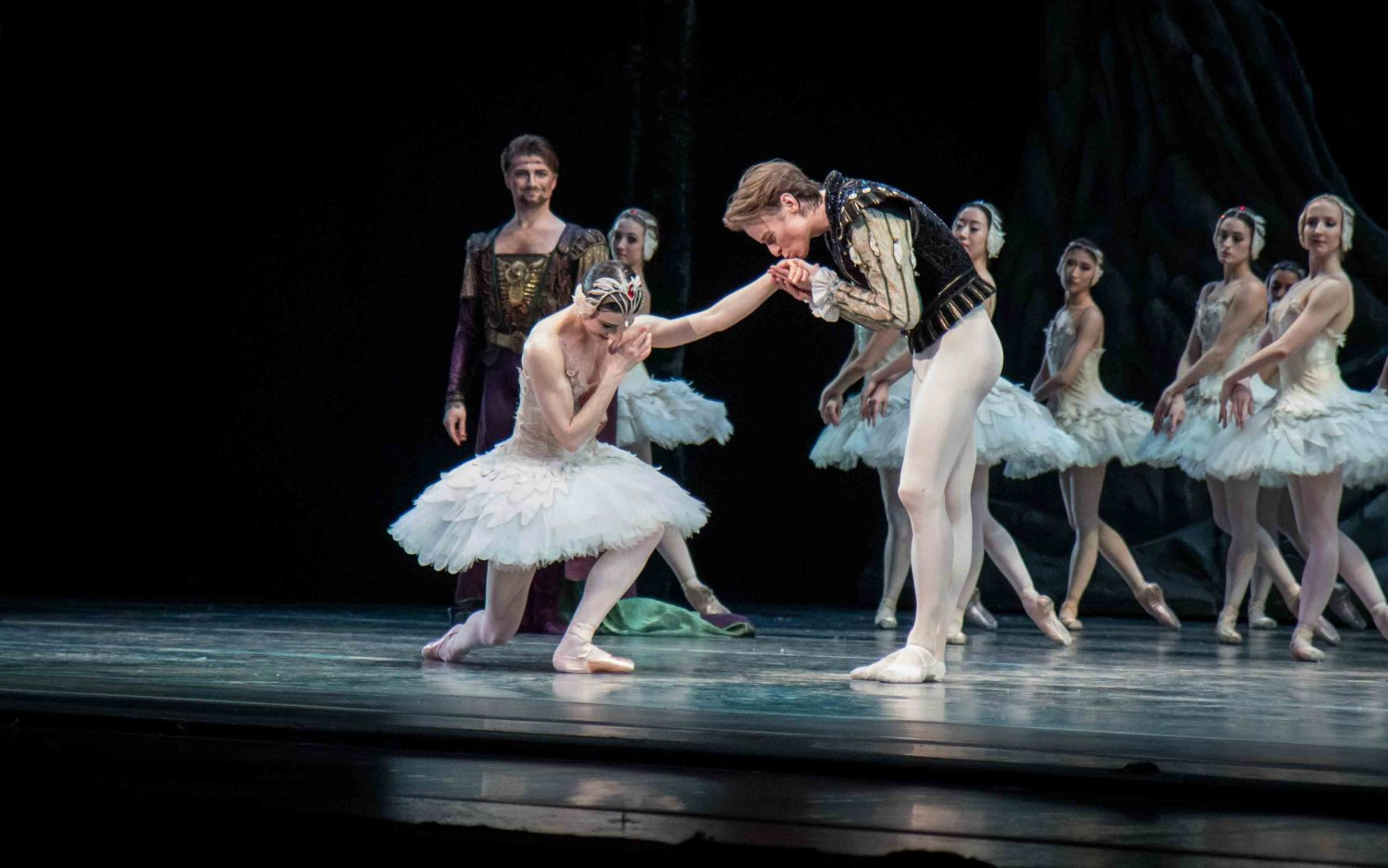 Sarah Lane ABT Swan Lake debut with Daniil Simkin