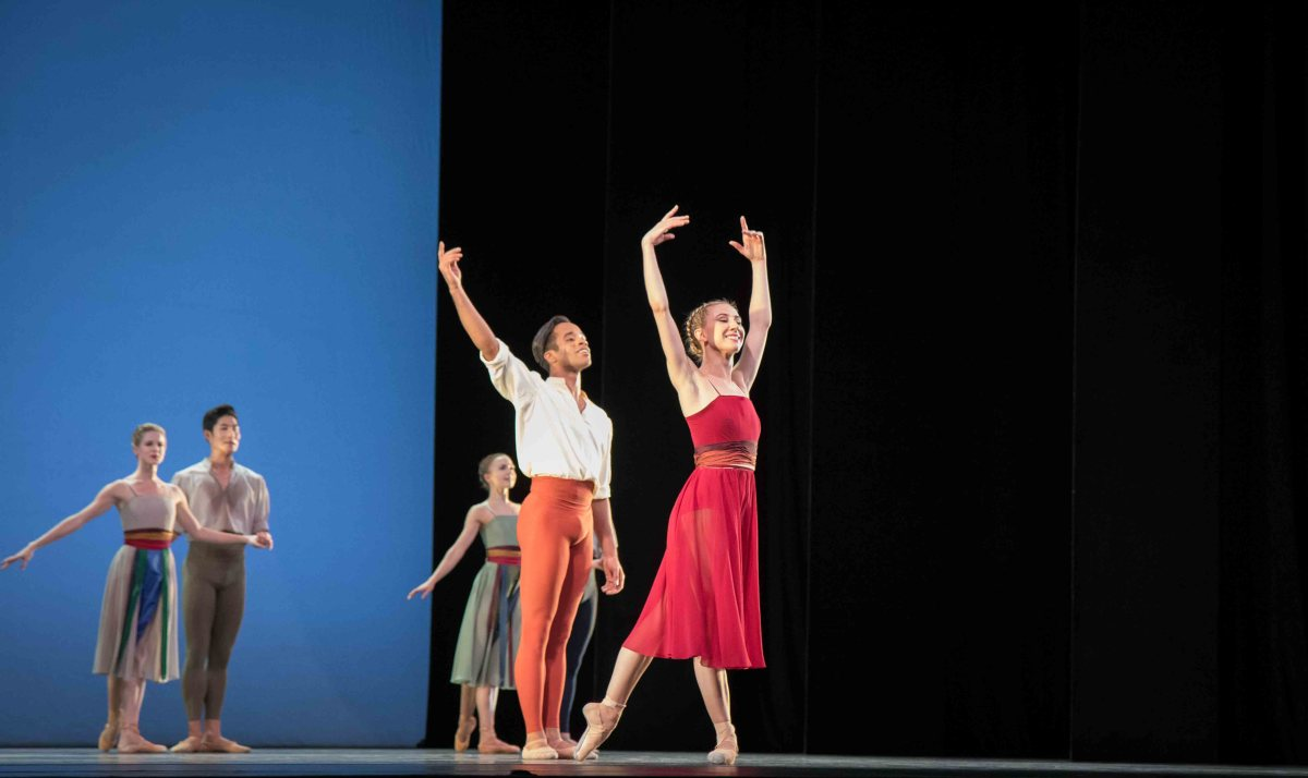 ABT Fall Season 2017: More of the Same: Isabella Boylston and Gabe Stone Shayer.