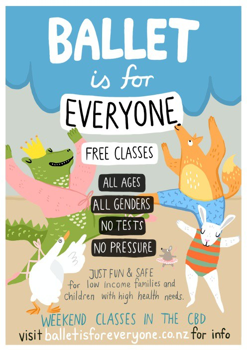 Ballet is for Everyone – New Zealand Dance Charity