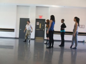 Instituto pairs emerging choreographers with our company dancers in an exploratory, collaborative environment.