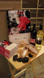Master's Muse, Capezio pointe shoes, and Ballet in Cleveland Wine