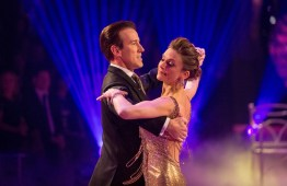 Programme Name: Strictly Come Dancing 2015 - TX: 12/12/2015 - Episode: n/a (No. n/a) - Picture Shows: **LIVE SHOW** Anton Du Beke, Katie Derham - (C) BBC - Photographer: Guy Levy