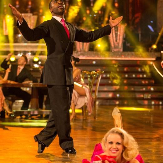 Ore Oduba, Joanne Clifton - (C) BBC - Photographer: Guy Levy