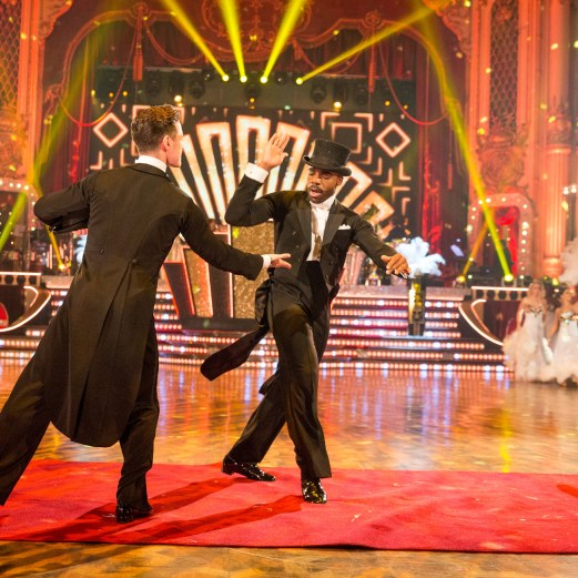 Ore Oduba, Strictly Come Dancing Pro Dancers - (C) BBC - Photographer: Guy Levy