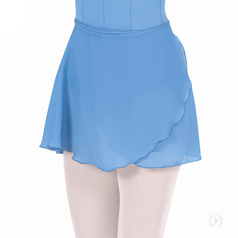 Childrens Georgette Mock Wrap Skirt