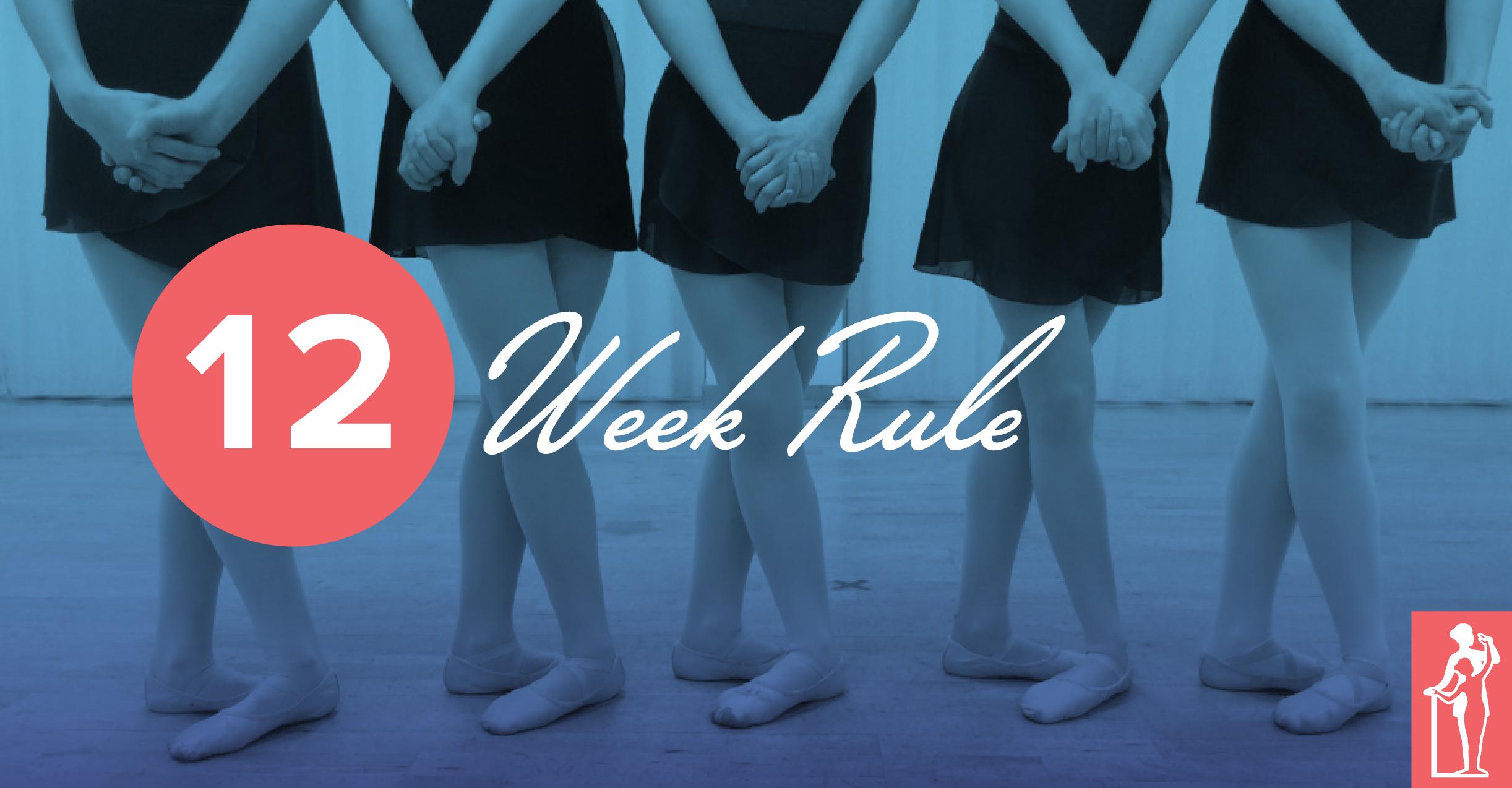 12 Week Rule