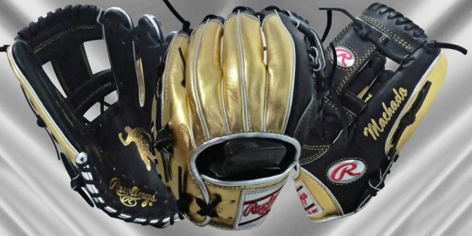Manny Machado's All Star Game Glove