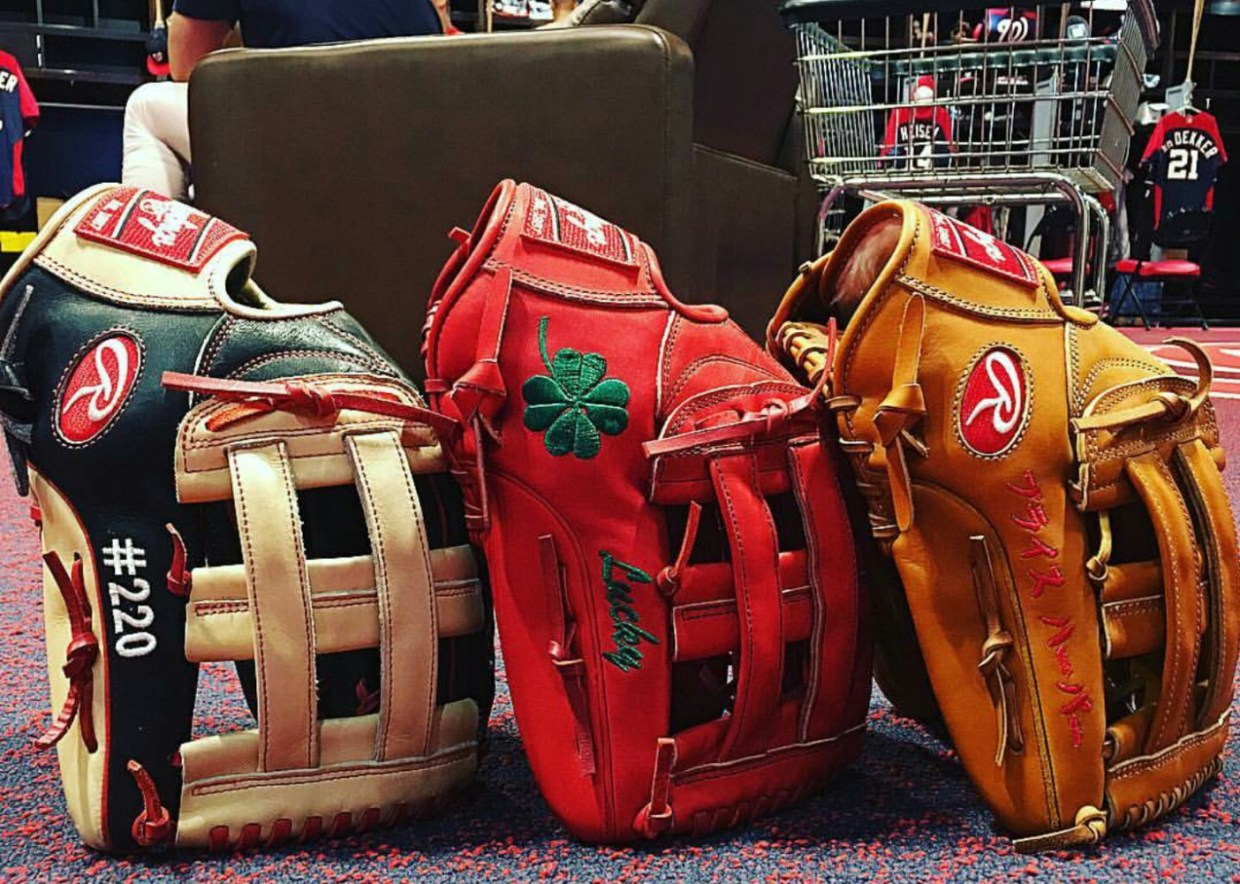 Bryce Harper's Glove: Rawlings Heart of the Hide PROHARP34