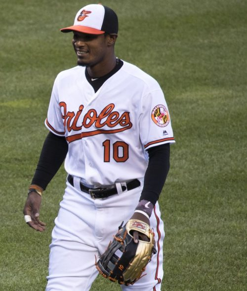Adam Jones Gold Glove