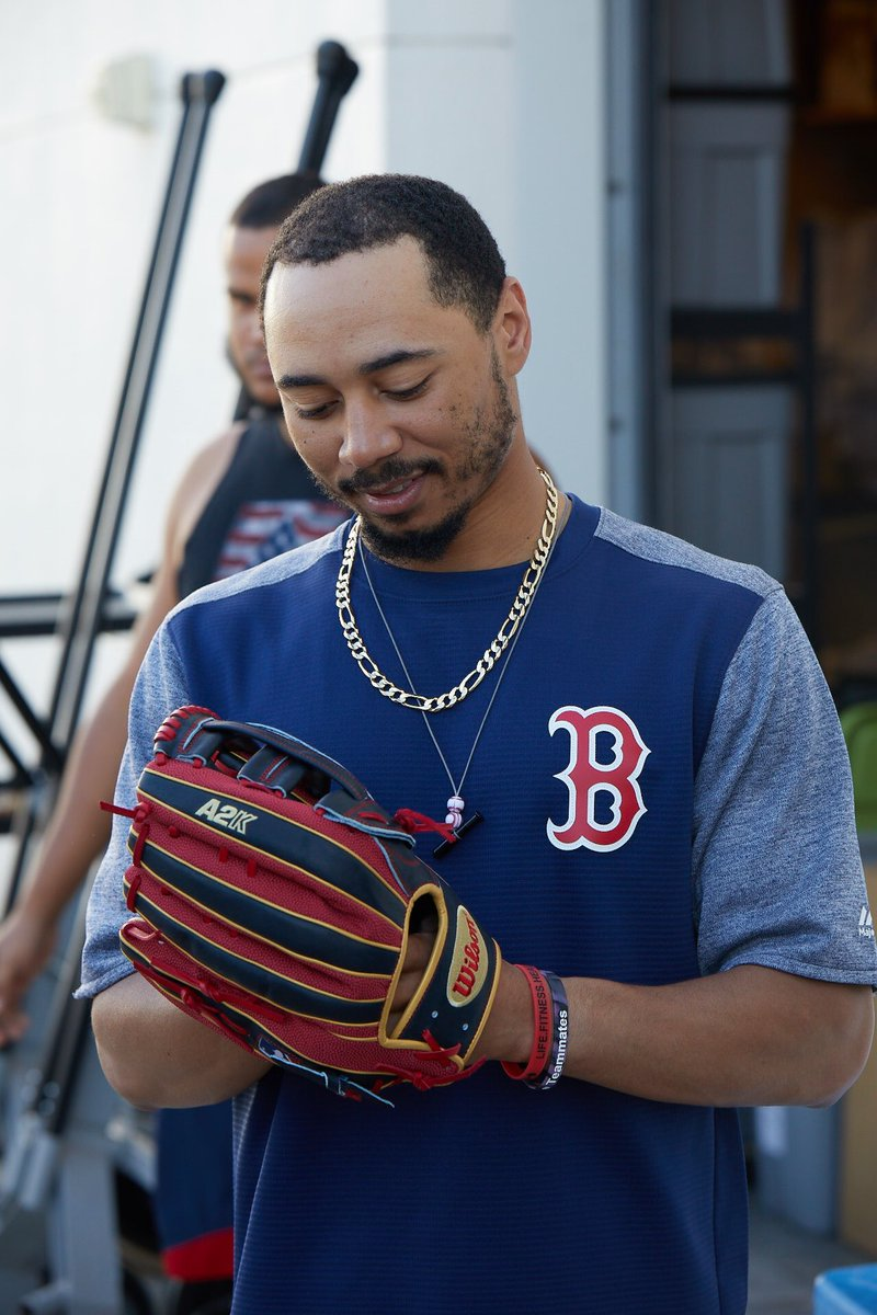 Mookie Betts' Glove