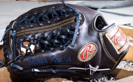 Dallas Keuchel's Glove: Rawlings Pro Preferred PROS206-4BR