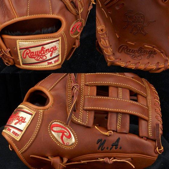 Nolan Arenado's Glove: Rawlings Heart of the Hide PRO12-6TI