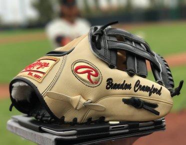 Brandon Crawford's Glove: Rawlings Pro Preferred PRO200-6KB