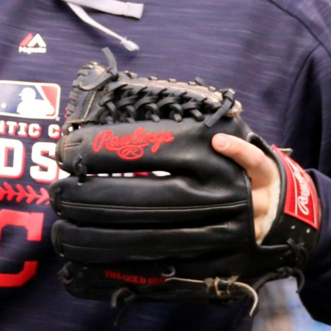 Jason Kipnis' Glove: Rawlings Pro Preferred PRO200-4KB