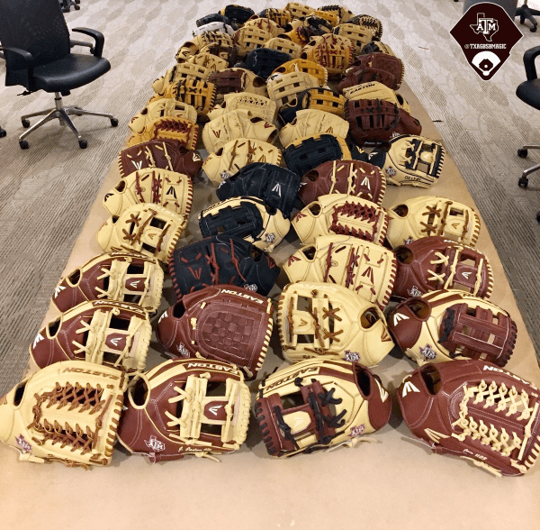 Texas A & M Glove Day