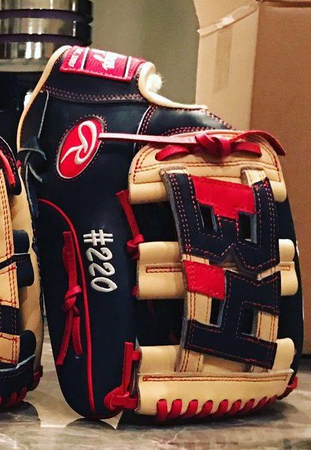 Bryce Harper's 2017 Gloves