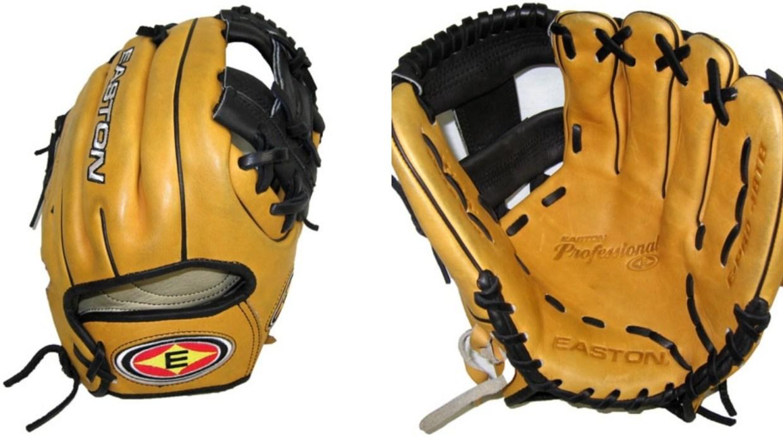 Dustin Pedroia's Easton Glove