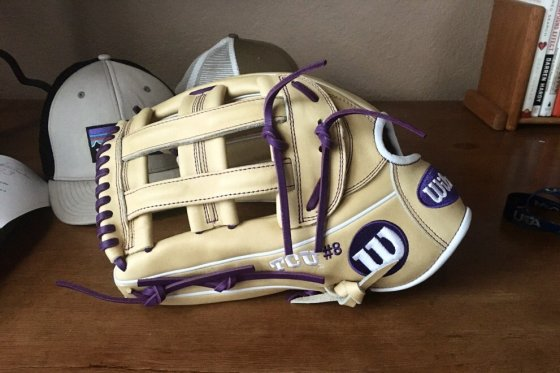 TCU's Wilson Gloves for the Upcoming season