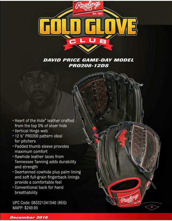 Rawlings Gold Glove Club December