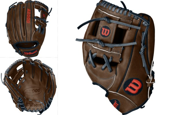 Dansby Swanson's Glove: Custom Wilson A2000 1787