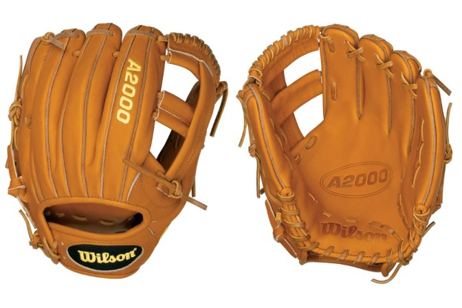 Evan Longoria's Glove: Orange Tan Wilson A2000 EL3