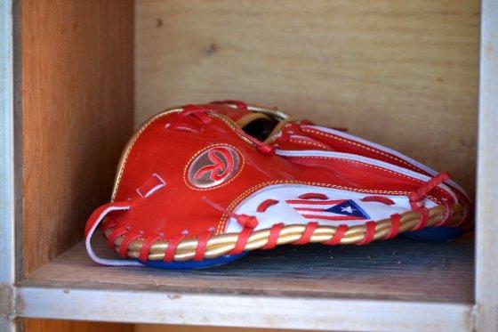Francisco Lindor's pancake glove