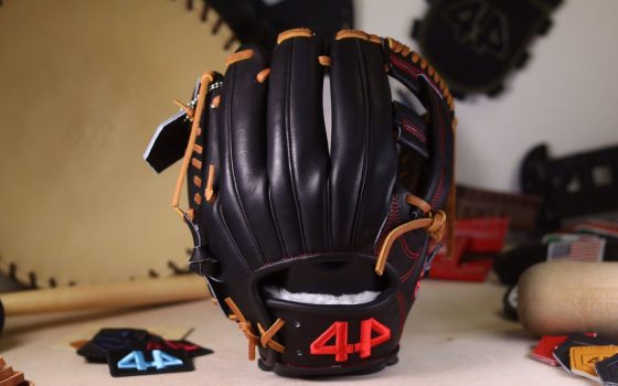 "44 Pro Gloves Signature Series stock glove (Black, 11.5"" Single Post)"