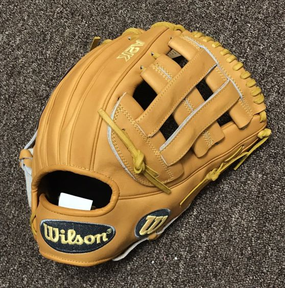 Wilson Glove of the Month August 2017 Daniel Norris' Wilson A2K DW5