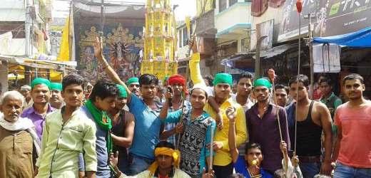 रानीगंज ने फिर कर दिया दंग, या हुसेन-जय मां दुर्गे संग-संग