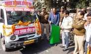 मतदाता जागरूकता प्रचार वाहन को हरी झण्डी दिखाकर किया रवाना