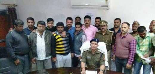 जौनपुर से लुटी गई साठ लाख की सरिया समेत आरोपी गाजीपुर में हत्थे चढ़े