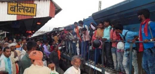 बलिया में चेन पुलिंग करने वालों का वश चले तो ट्रेन को कार की तरह अपने अपने घर तक ले जाते