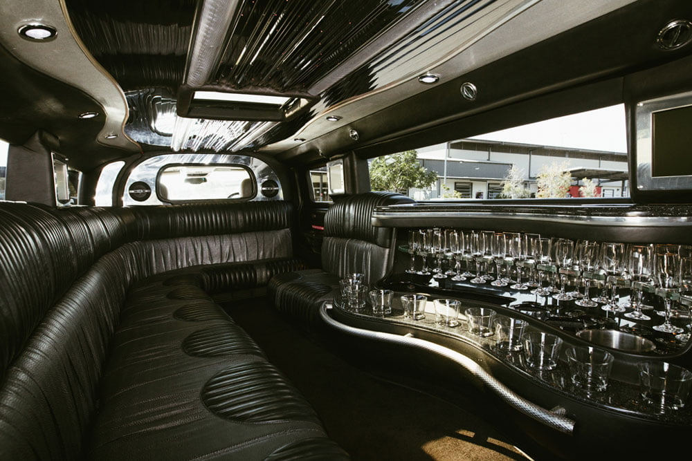 Stretch Hummer Interior