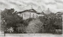 Runnels County Courthouse in Early 1900's