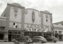 Texas Theater in the 1930's - 40's