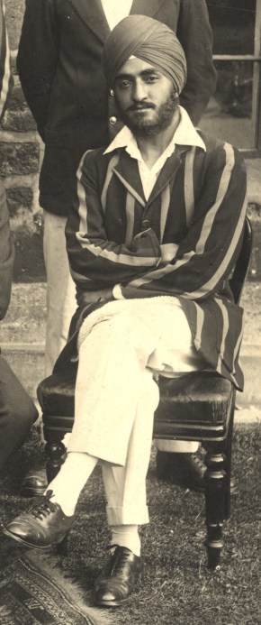 HS Malik, Balliol Cricket Past & Present 1921. Balliol College Archives PHOT 24.20