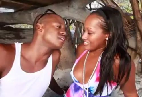 Steve Francis photo with girl while singing a song