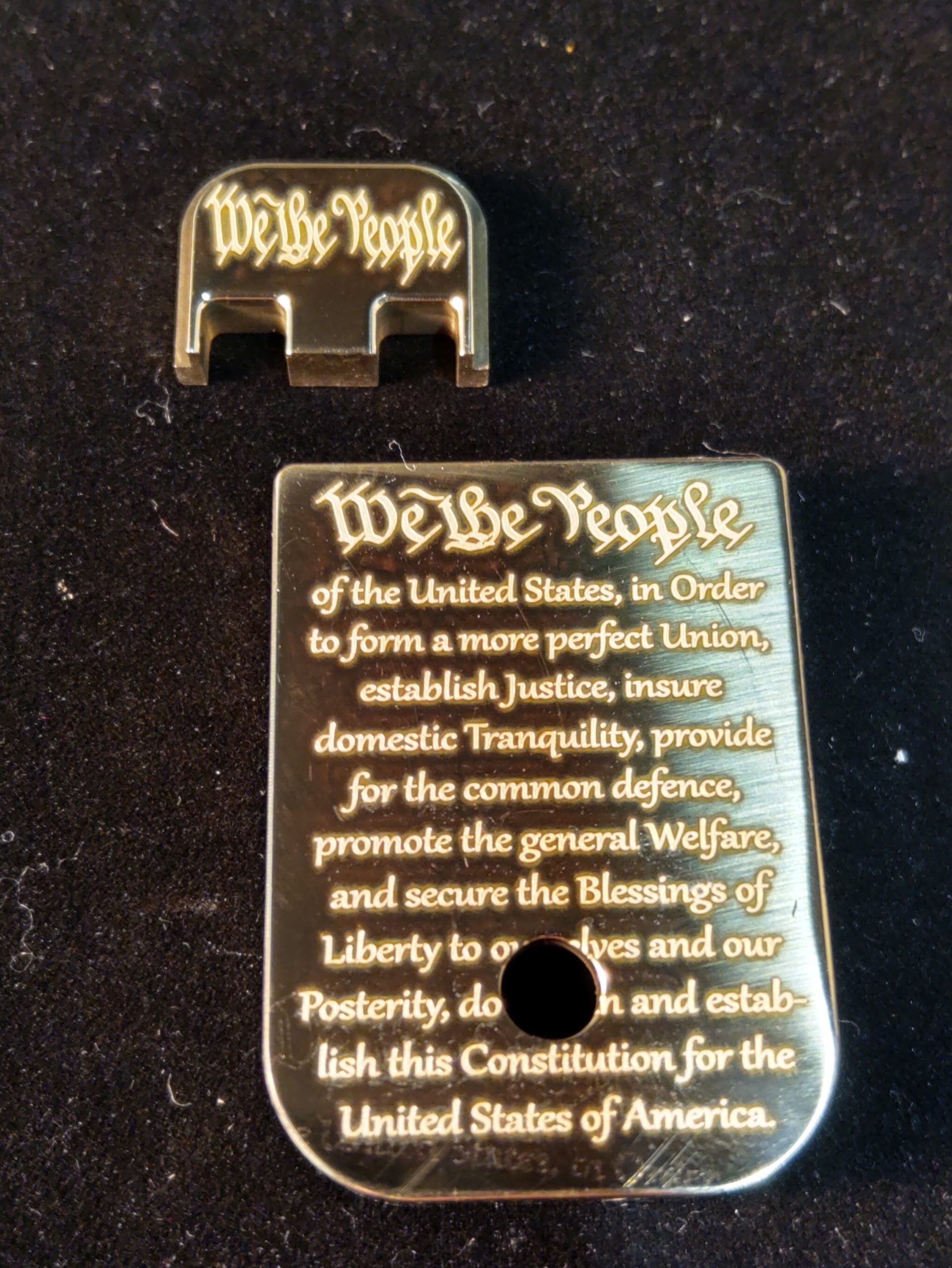 """""""WE THE PEOPLE"""" For Glock 10mm, 45 ACP, Choose your Color & Part"""