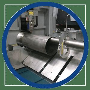 Balliu Laser machine Lokeren Denemarken Denmark Machine om grotere leidingen te snijden