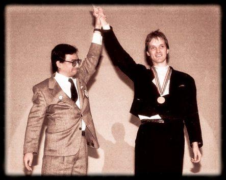 Benedikt wird Weltmeister 1989