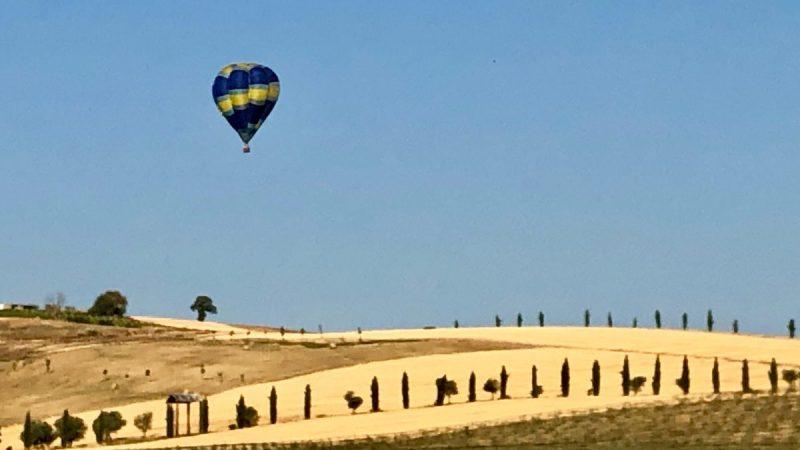 Italienurlaub mit dem Ballon