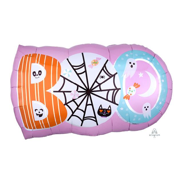 Helium Ballon Halloween Boo 70 CM, ballon versturen, ballon per post, greetz ballon, hallmark, halloween ballon, halloween, helium ballon