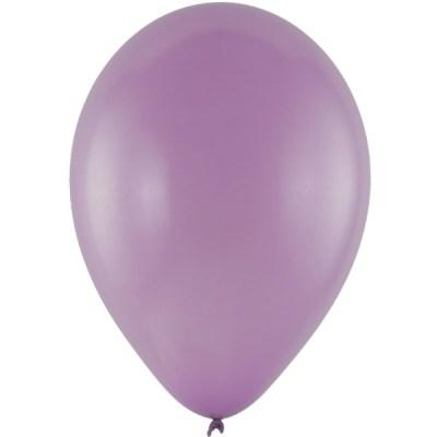 Latexballon 28cm metallic 63 lila