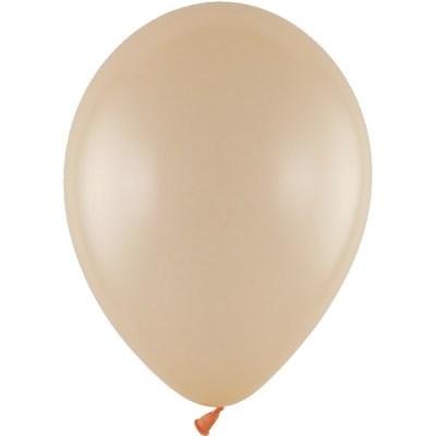 Latexballon 28cm metallic 782 pfirsich
