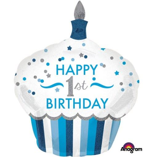 1st Birthday Muffin Boy