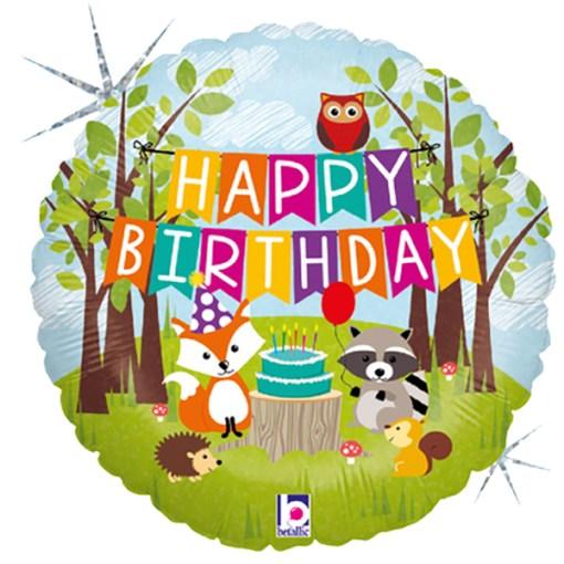 Happy Birthday Waldtiere
