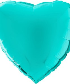 Wunderschoener Folienballon in Herzform.